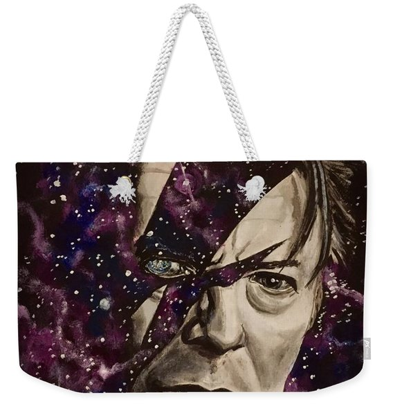 There's A Starman Waiting In The Sky Weekender Tote Bag