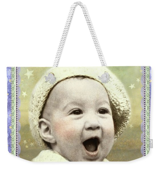 There's Bunny Weekender Tote Bag