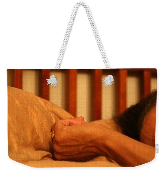 026 - Theresa's Hand Weekender Tote Bag