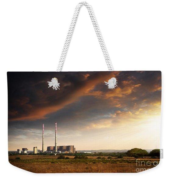 Thermoelectrical Plant Weekender Tote Bag