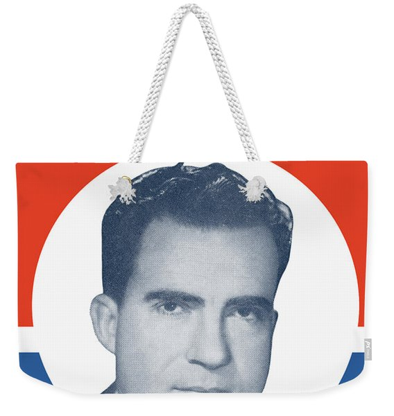 They Can't Lick Our Dick - Nixon '72 Election Poster Weekender Tote Bag