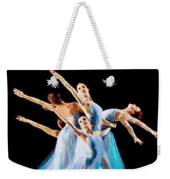 They Danced Weekender Tote Bag