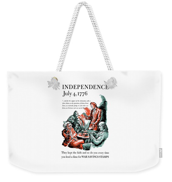 They Kept The Faith - Ww2 Weekender Tote Bag