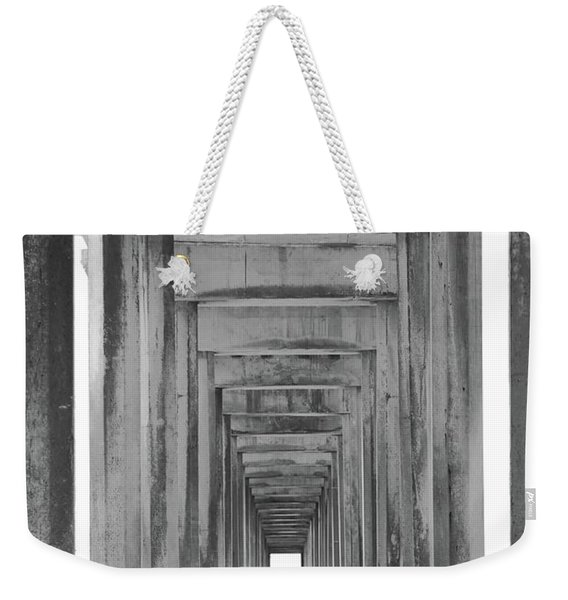 Think Outside Of The Box Weekender Tote Bag