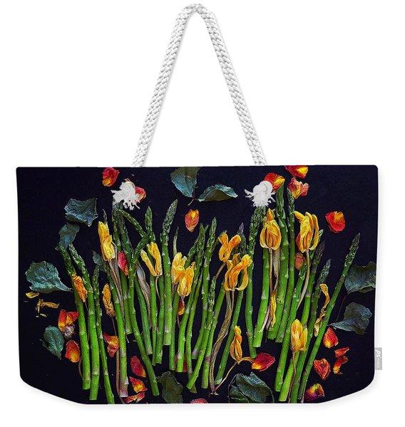 Think Spring Asparagus Weekender Tote Bag