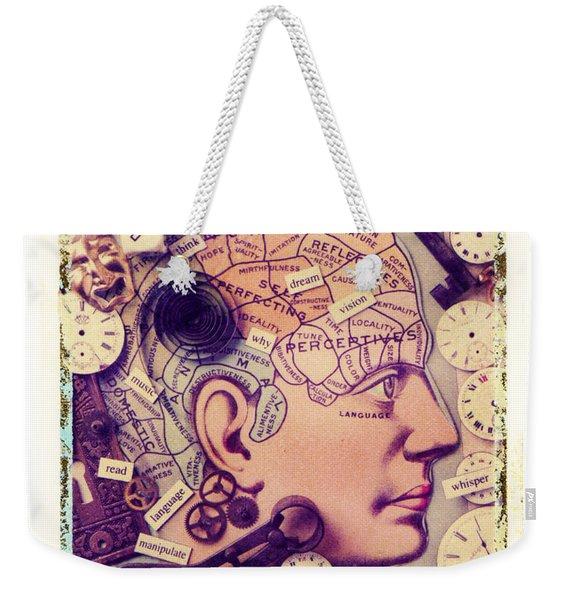 Thinking Weekender Tote Bag