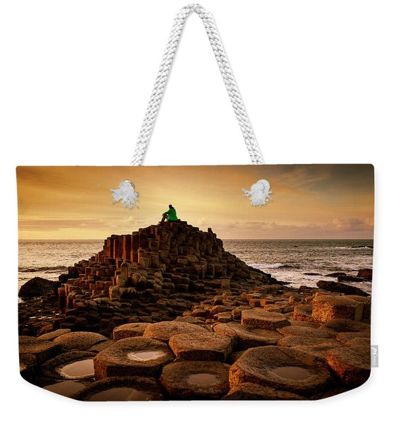 Thinking Throne Weekender Tote Bag