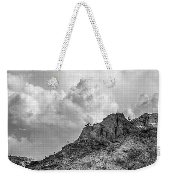 Thirsty Earth Weekender Tote Bag