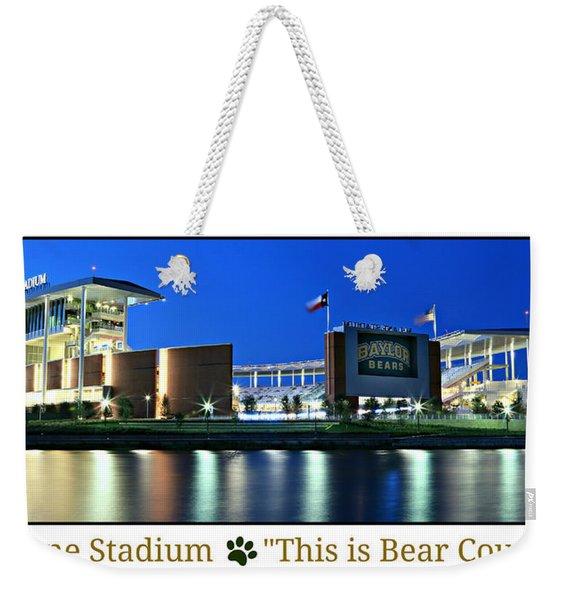 This Is Bear Country Weekender Tote Bag