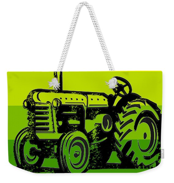 This Is How I Roll Tractor Tee Weekender Tote Bag