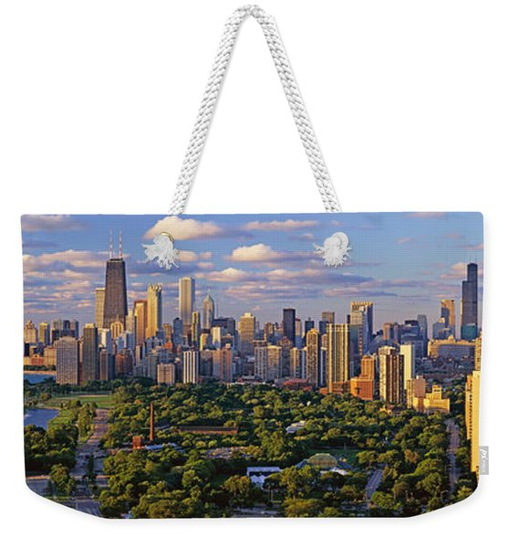This Is Lincoln Park With Diversey Weekender Tote Bag