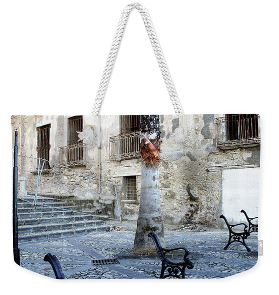 This Is Not A Bench Weekender Tote Bag