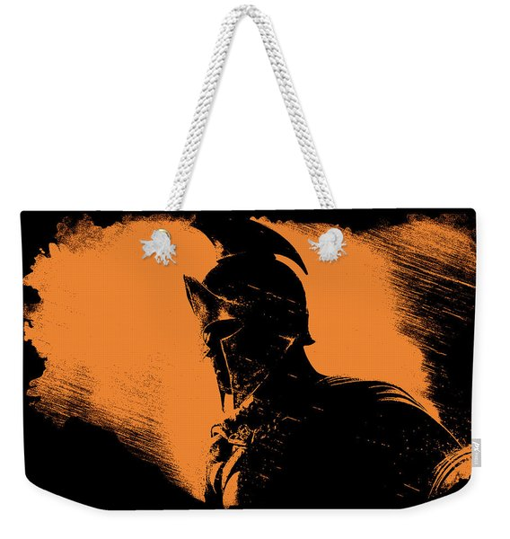 This Is Sparta Weekender Tote Bag