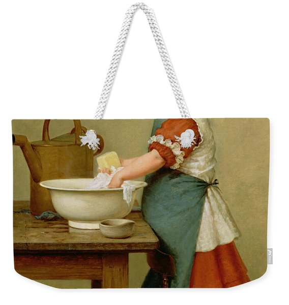 This Is The Way We Wash Our Clothes  Weekender Tote Bag