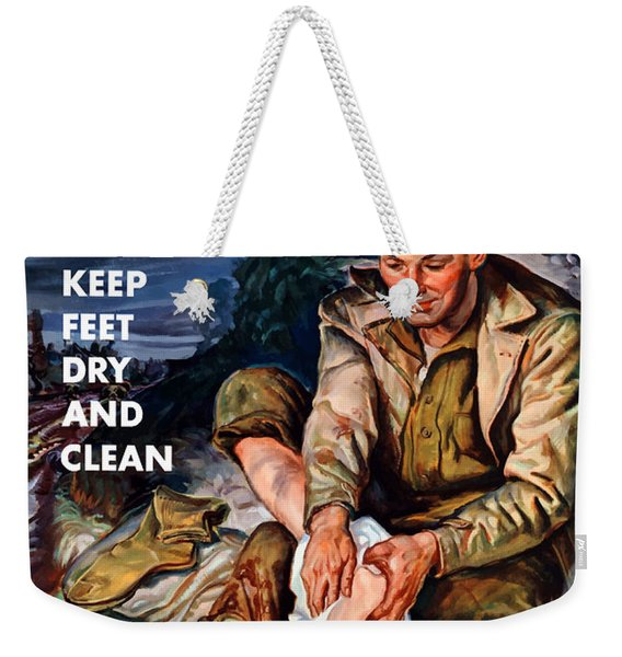 This Is Trench Foot - Prevent It Weekender Tote Bag
