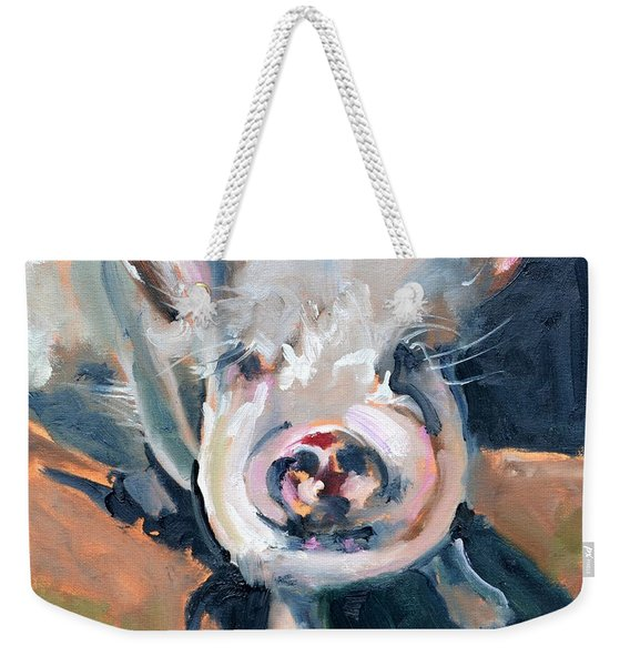 This Little Piggy At Spring Valley Farm Weekender Tote Bag