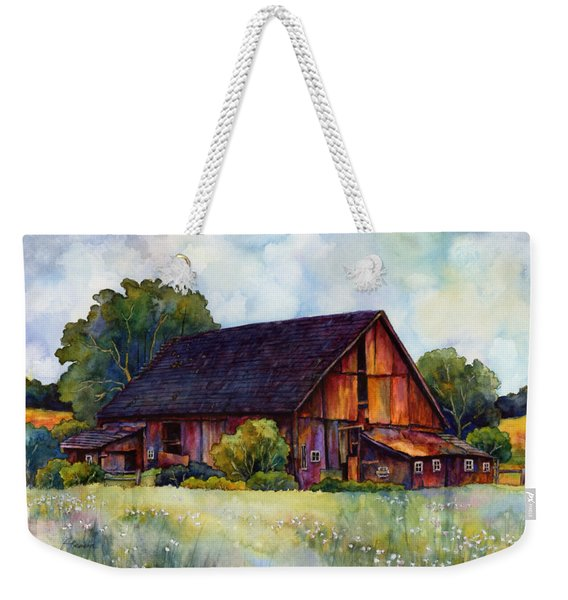 This Old Barn Weekender Tote Bag