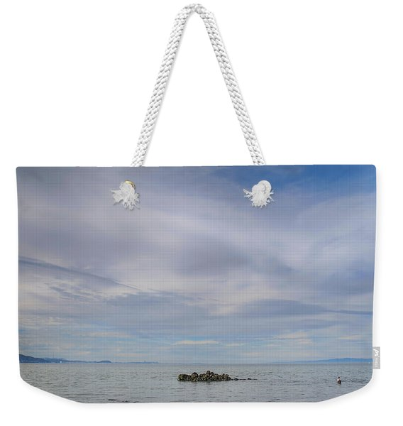 This Vast Silence Weekender Tote Bag