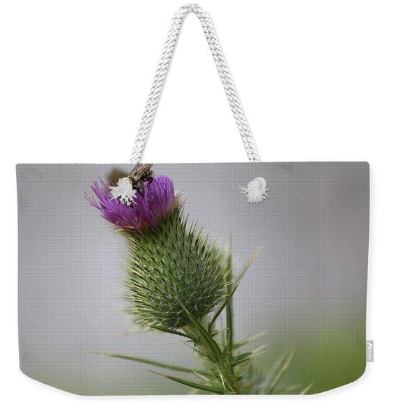 Thistle And Bee 2 Weekender Tote Bag