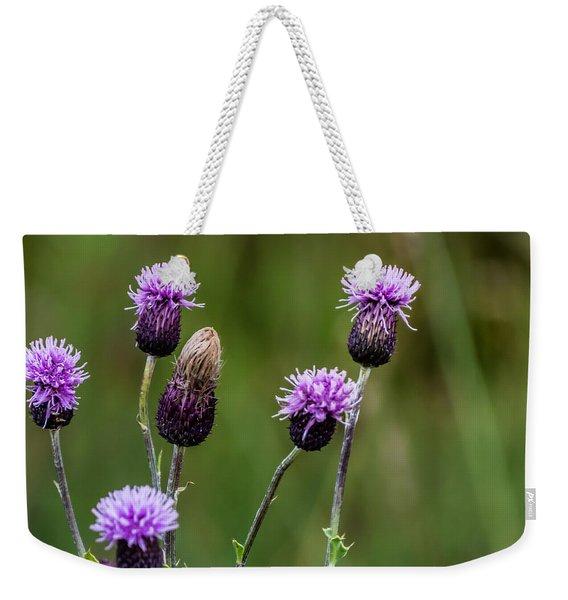 Thistles Weekender Tote Bag