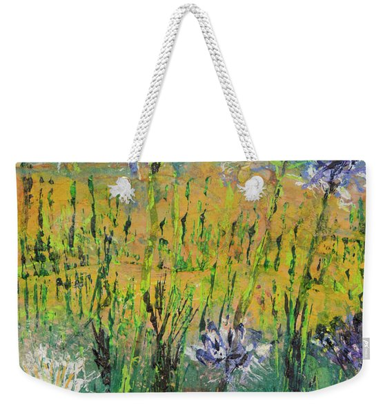 Thistles Too Weekender Tote Bag