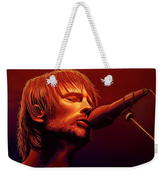 Thom Yorke Of Radiohead Weekender Tote Bag
