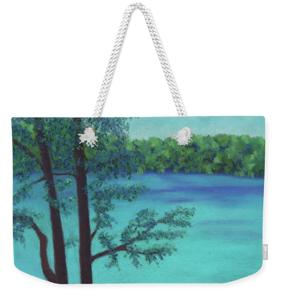 Thoreau's View Weekender Tote Bag