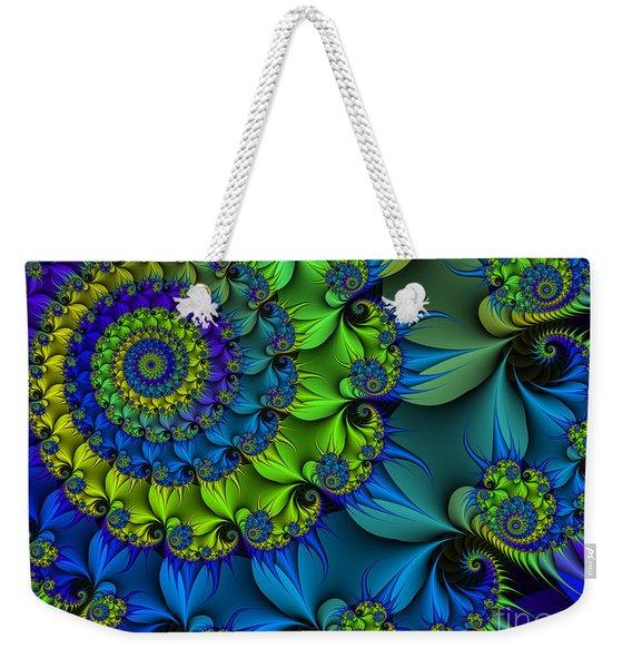 Thorn Flower Weekender Tote Bag