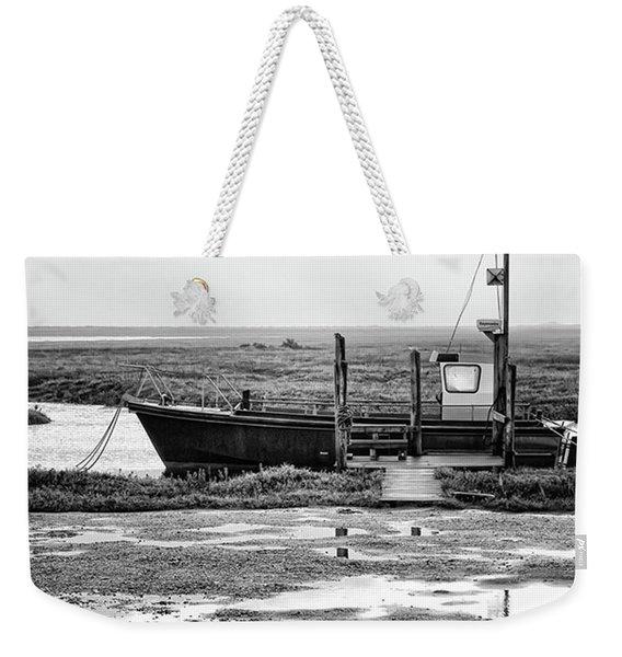 Thornham Harbour, North Norfolk Weekender Tote Bag