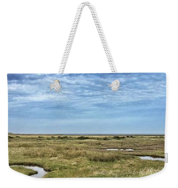 Thornham Marshes, Norfolk Weekender Tote Bag