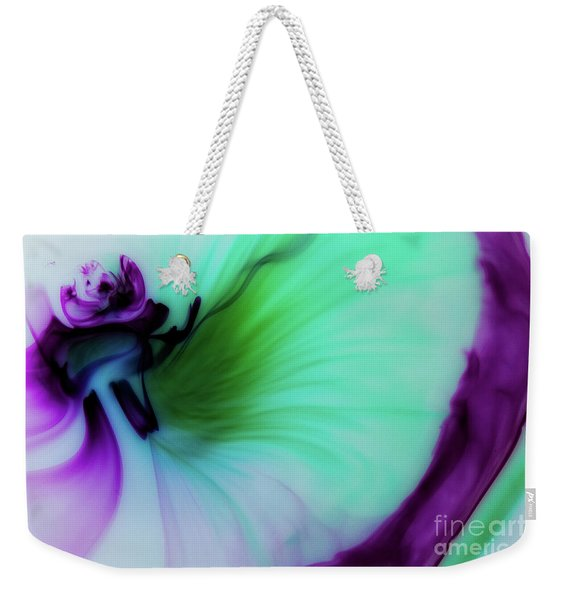 Though The Silence Weekender Tote Bag