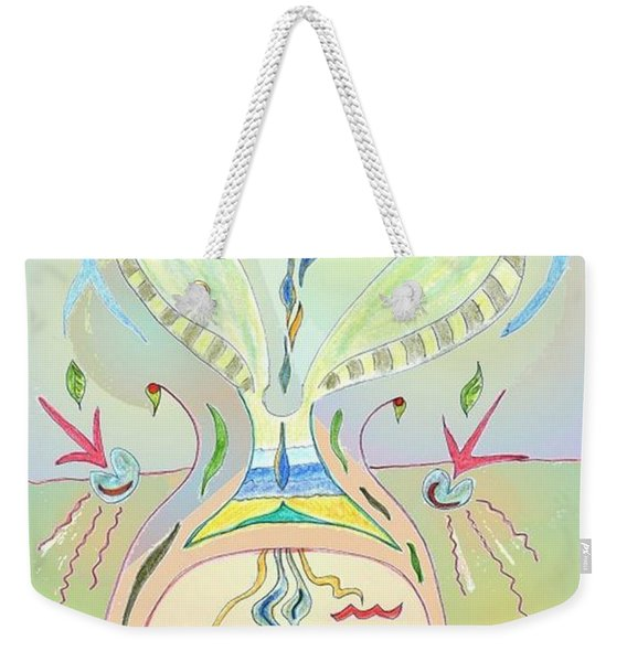 Thought Seed Weekender Tote Bag