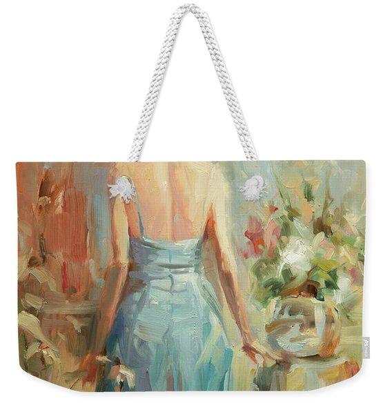 Thoughtful Weekender Tote Bag