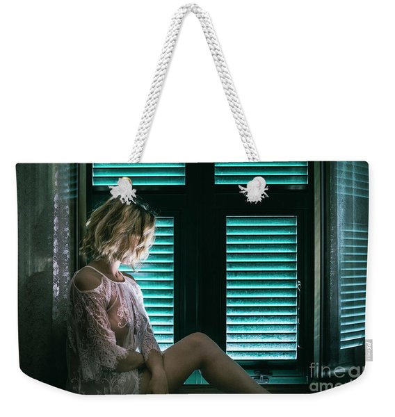Thoughts And Silences Weekender Tote Bag