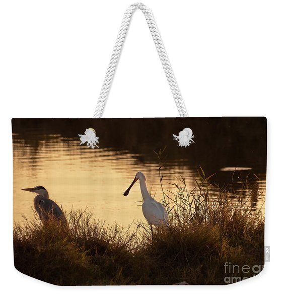 Thoughts On Sunset 02 Weekender Tote Bag