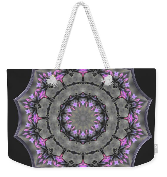 Threading The Needle Weekender Tote Bag