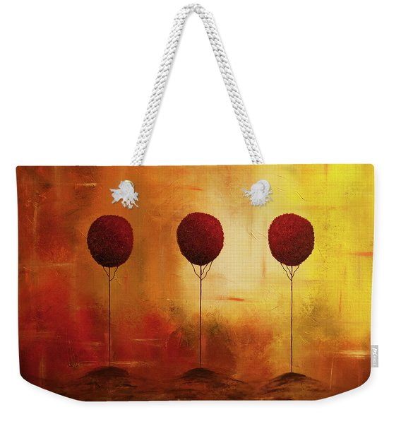 Three Alone But Together Weekender Tote Bag