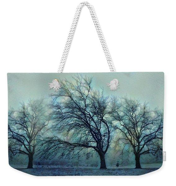 Three Bare Trees Weekender Tote Bag