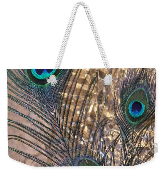 Three Feathers Weekender Tote Bag