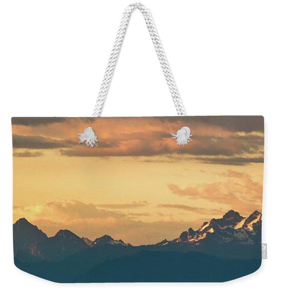 Three Fingers Mountain Weekender Tote Bag