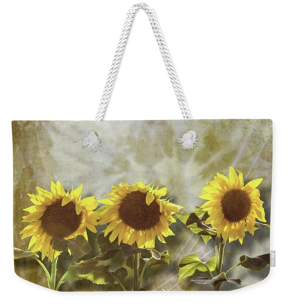 Three In The Sun Weekender Tote Bag