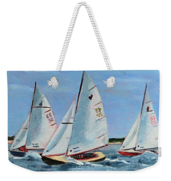 Three Indians Weekender Tote Bag