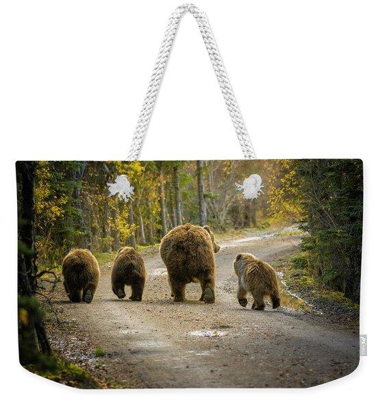 Bear Bums Weekender Tote Bag