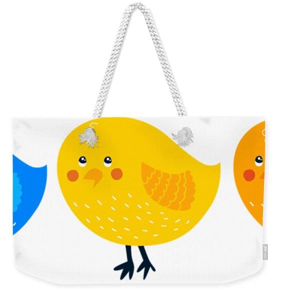 Three Little Birds Tee Weekender Tote Bag