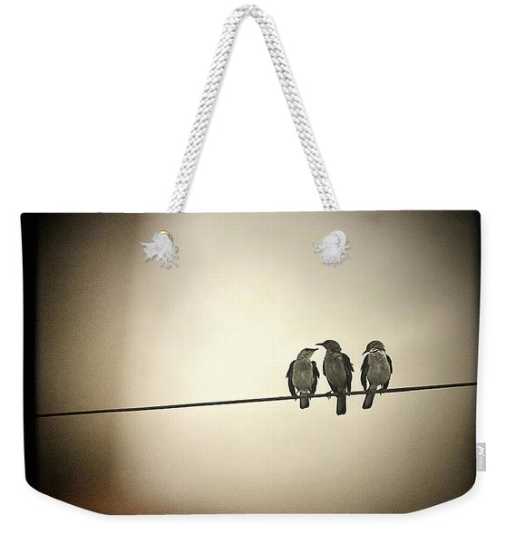 Three Little Birds Weekender Tote Bag