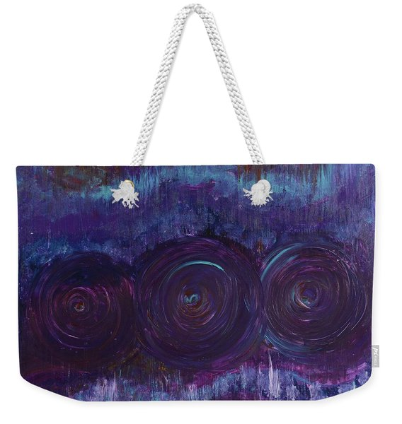 Three Mandalas Weekender Tote Bag