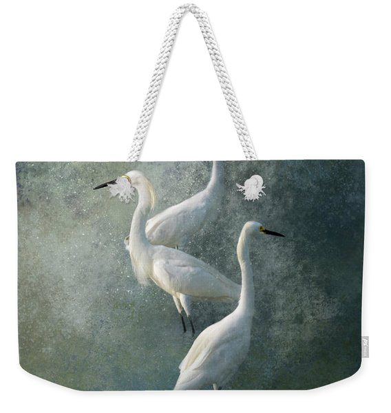 Three Of A Kind Weekender Tote Bag