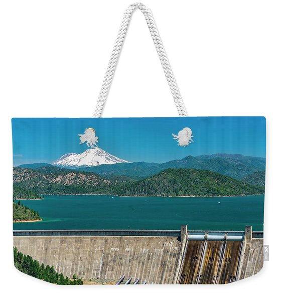 Three Shastas Weekender Tote Bag