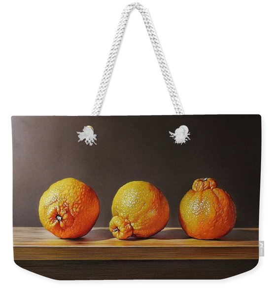 Three Tangelos Weekender Tote Bag