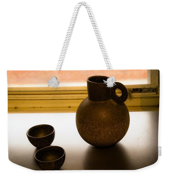 Three Vessels Weekender Tote Bag